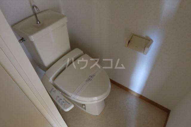 プランドール 402号室のトイレ