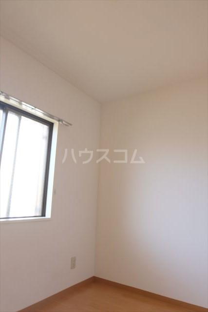 プランドール 402号室のベッドルーム