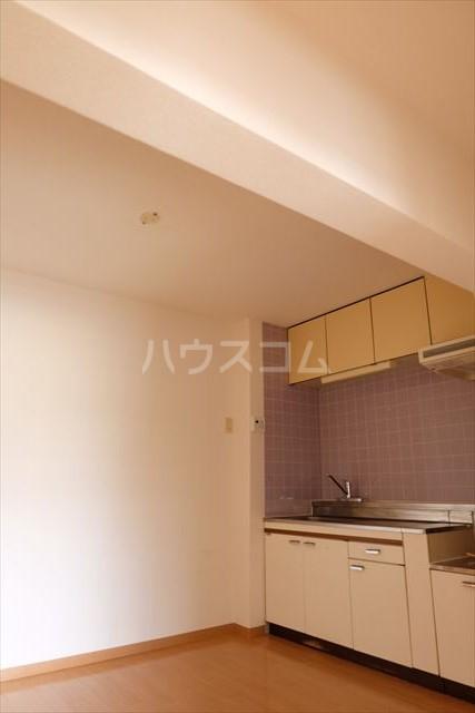 プランドール 402号室のキッチン