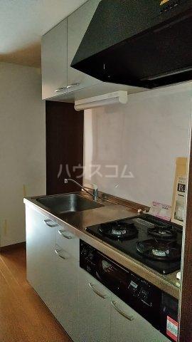 マーブル北戸田 201号室のキッチン