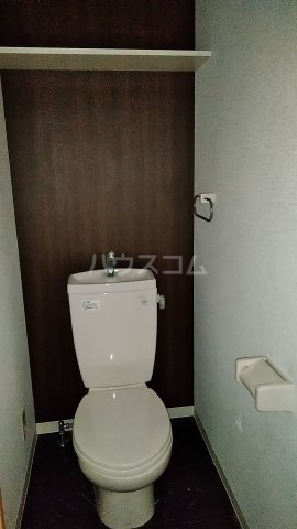 マーブル北戸田 201号室のトイレ