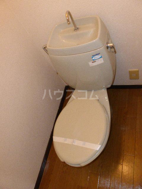コートベルバレーⅡ 305号室のトイレ