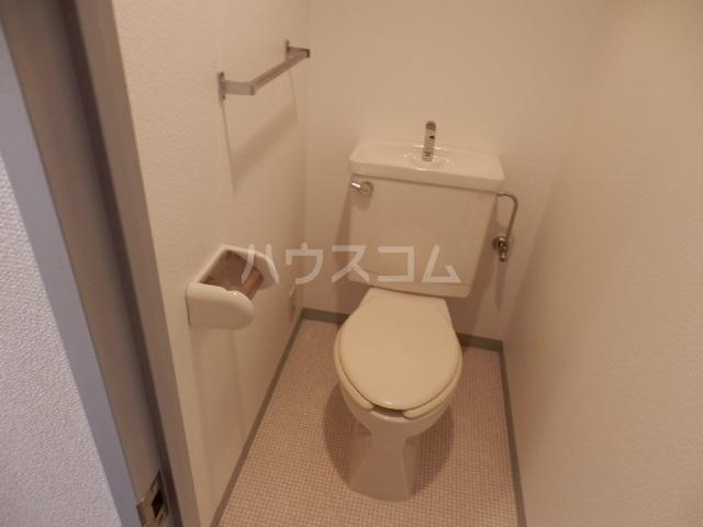 シティルミエール西浦和 205号室のトイレ