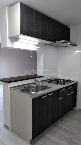 ドゥボヌール 305号室のキッチン