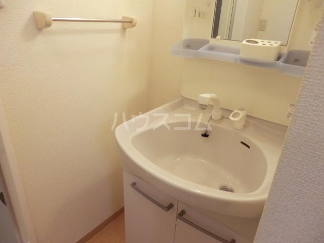 サンビレッジⅡ 107号室の洗面所
