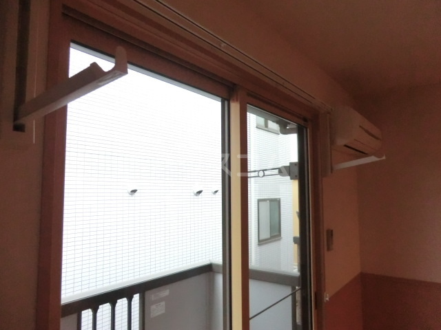 サンビレッジⅡ 203号室のバルコニー