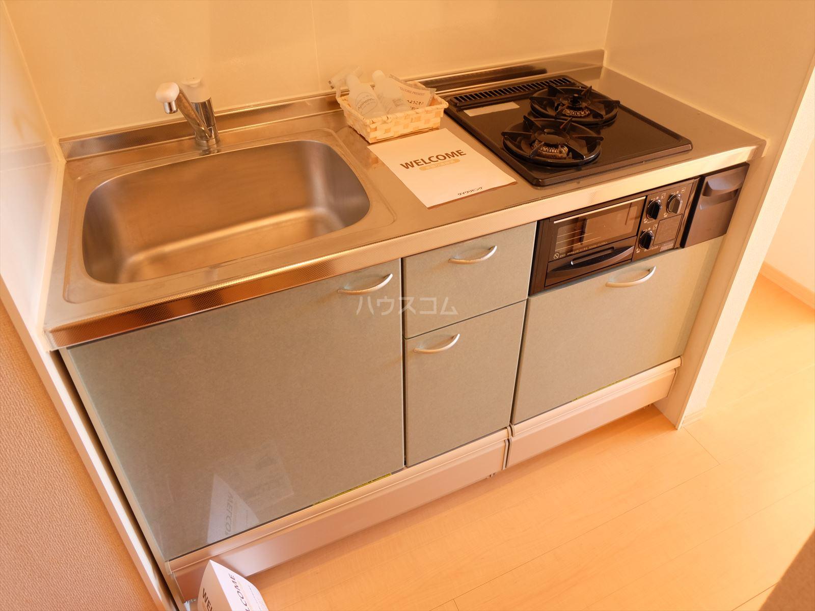 グランメール 201号室のキッチン