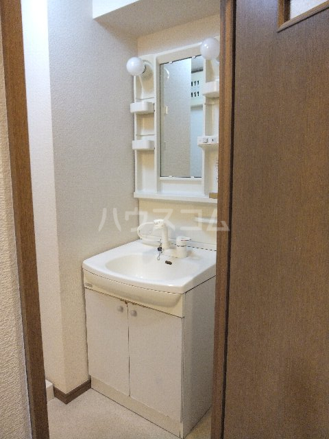 栗原マンション 302号室の洗面所