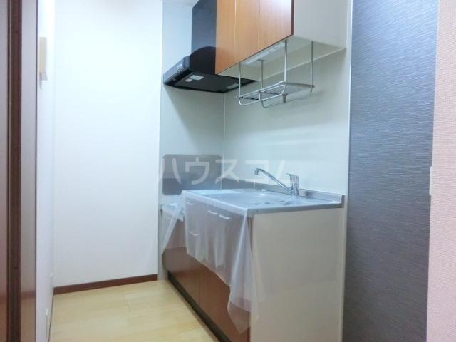 エアルースⅡ 205号室のキッチン