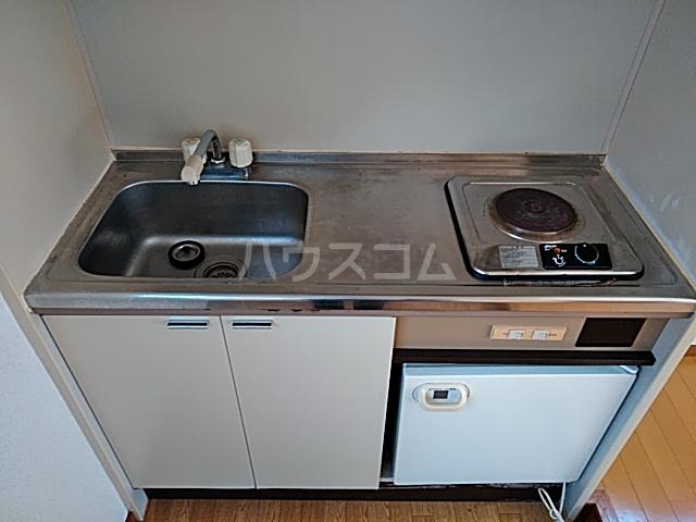 メゾンツバサ 102号室のキッチン