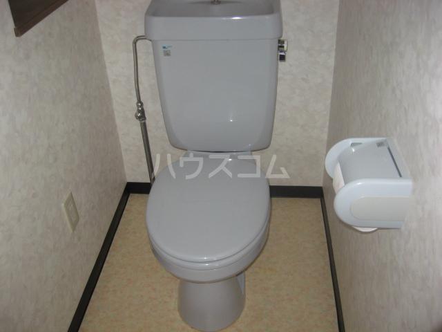 ウィズ・キッド 101号室のトイレ
