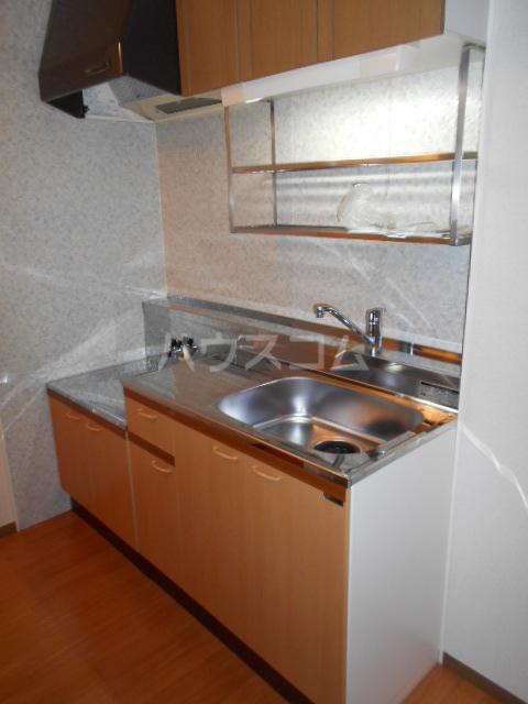 サンタシティー 1-202号室のキッチン