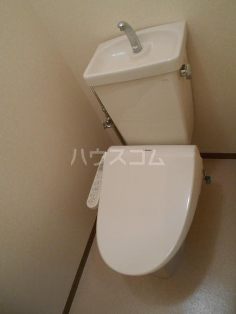 サンタシティー 1-202号室のトイレ