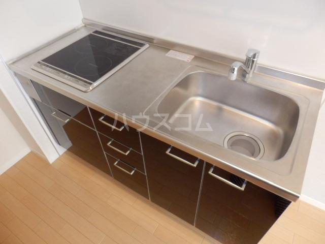 Ohana Hare B 205号室のキッチン