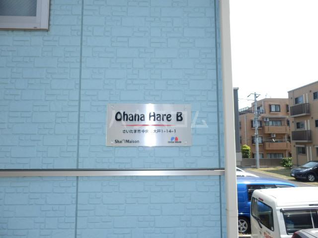 Ohana Hare B 205号室のエントランス