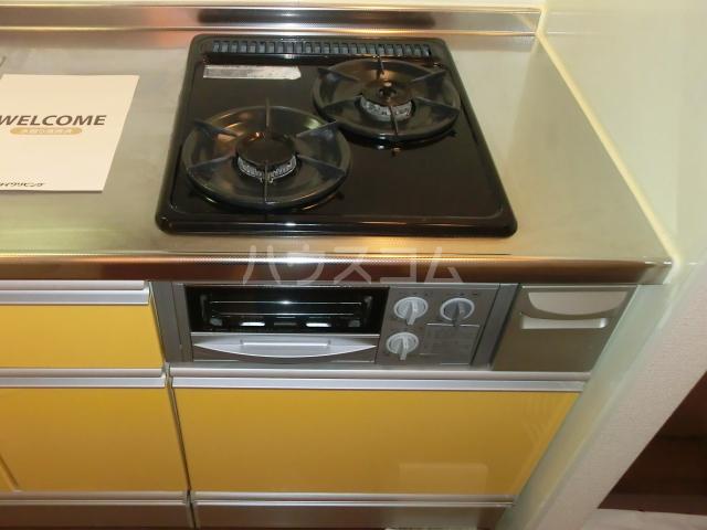 レジデンツ藤C 101号室のキッチン