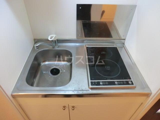 ラトゥール桜丘 202号室のキッチン