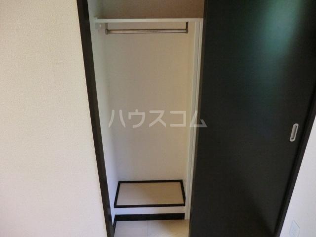 ラトゥール桜丘 202号室の収納