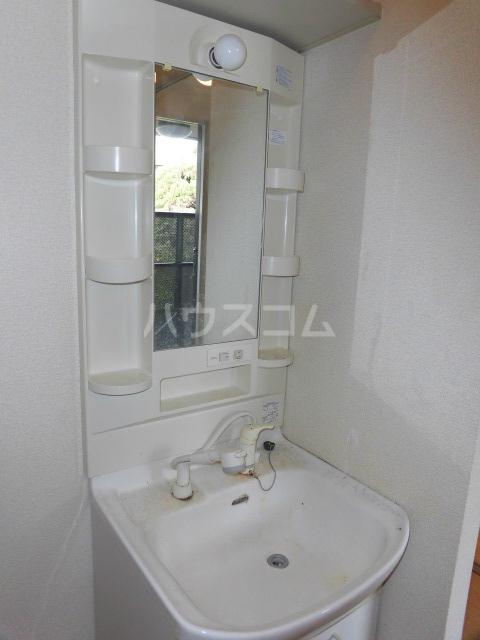 エスカール 201号室の洗面所