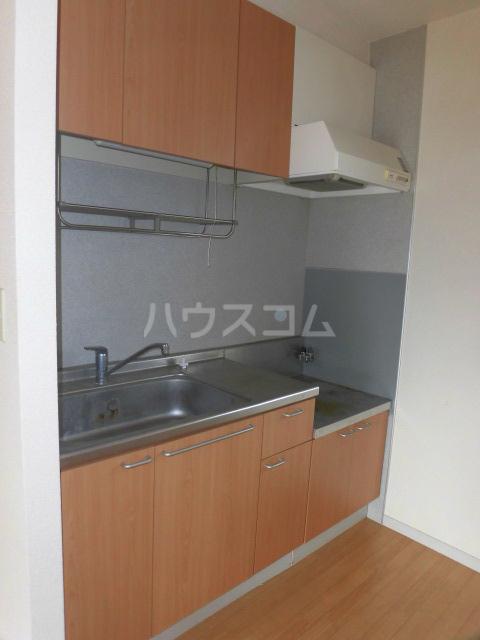 エスカール 201号室のキッチン