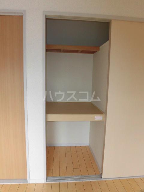 エスカール 201号室の収納