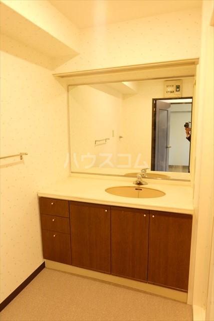 モナークプラザ西浦和秋ヶ瀬公園 610号室の洗面所