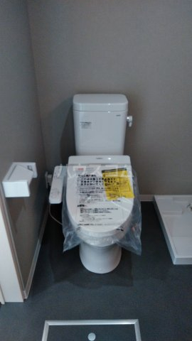 Milton Park Manor 101号室のトイレ