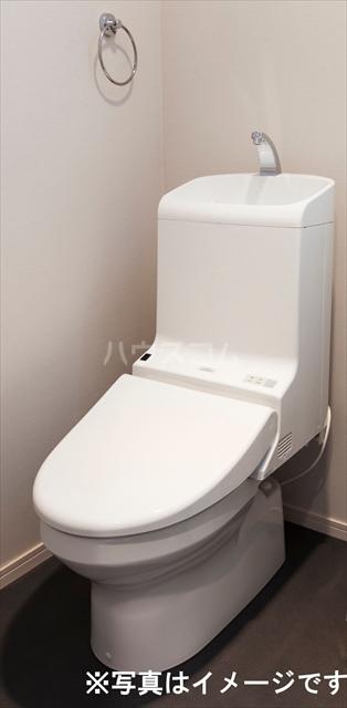 Milton Park Manor 201号室のトイレ