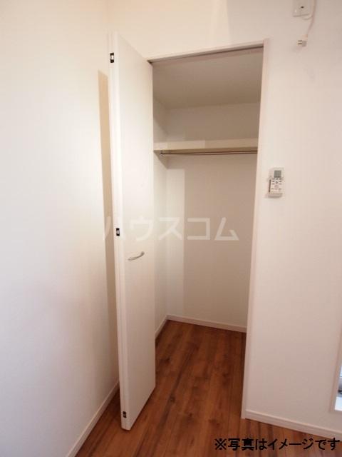 Milton Park Manor 302号室の収納
