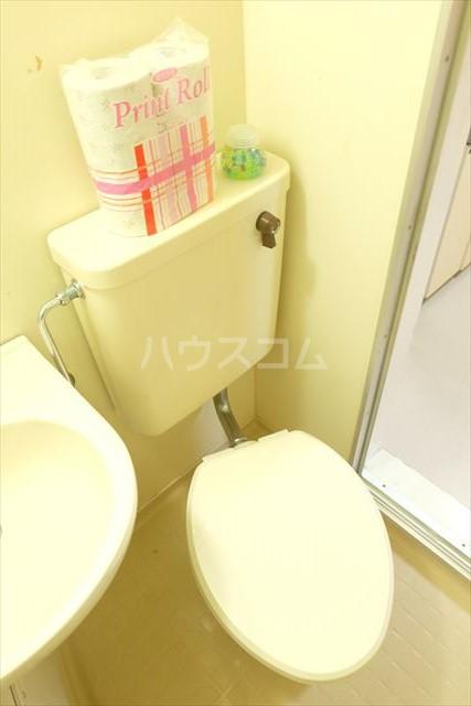 SEED 102号室のトイレ