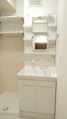 プリムヴェール弐十弐番館 202号室の洗面所