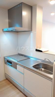 プリムヴェール弐十弐番館 203号室のキッチン