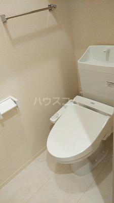 プリムヴェール弐十弐番館 203号室のトイレ