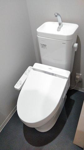 ルミエール南与野 102号室のトイレ