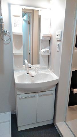 ルミエール南与野 102号室の洗面所