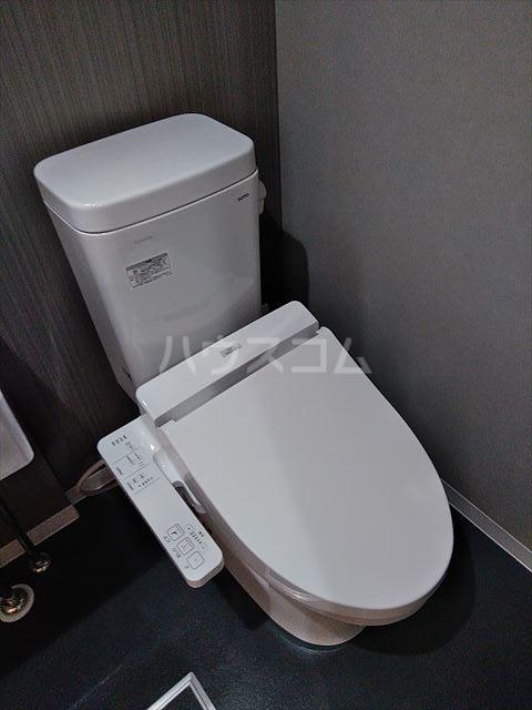 Nina 202号室のトイレ