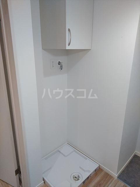 Nina 203号室の洗面所