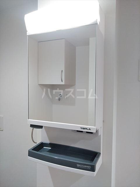 Nina 303号室の洗面所