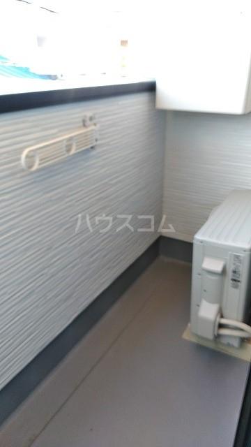 ミライエ武蔵浦和 102号室のバルコニー