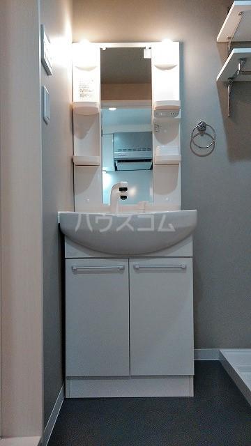 ミライエ武蔵浦和 102号室の洗面所
