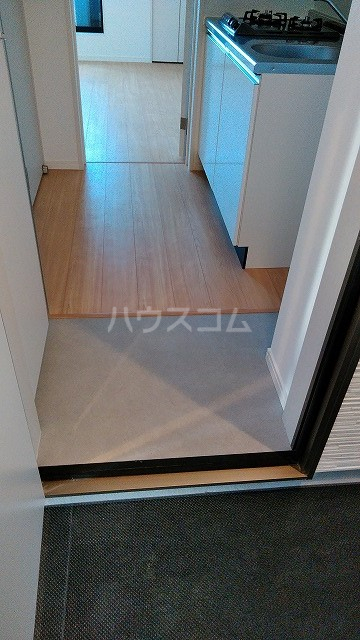 ミライエ武蔵浦和 102号室の玄関