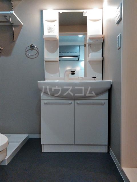 ミライエ武蔵浦和 201号室の洗面所