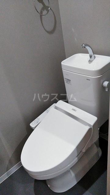 ミライエ武蔵浦和 203号室のトイレ