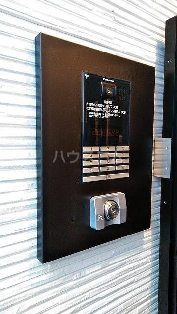 ミライエ武蔵浦和 203号室のセキュリティ