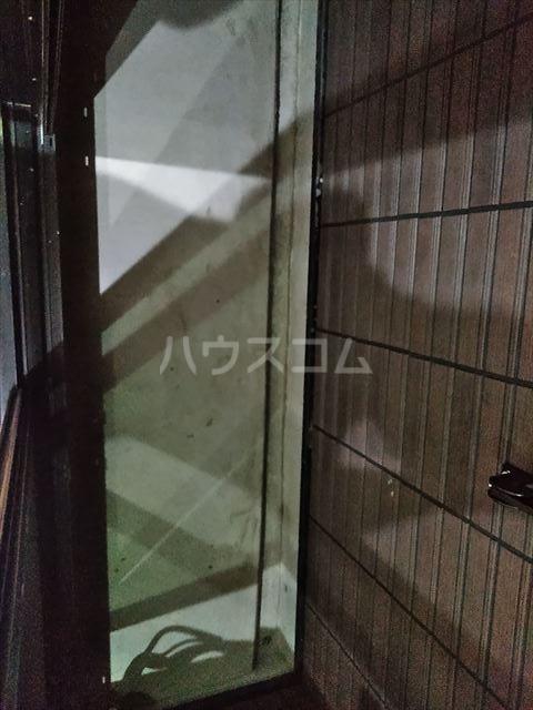 アークレス武蔵浦和 102号室のバルコニー