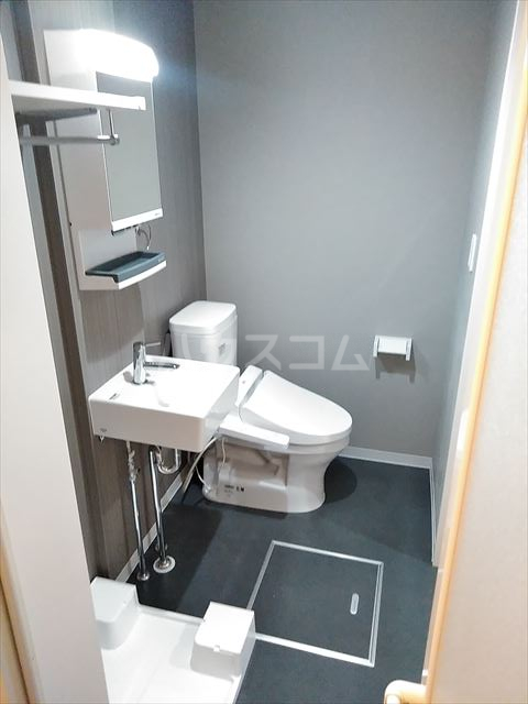 アークレス武蔵浦和 202号室のトイレ
