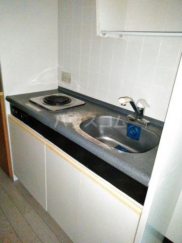 メゾン・ド・シャトー 107号室のキッチン