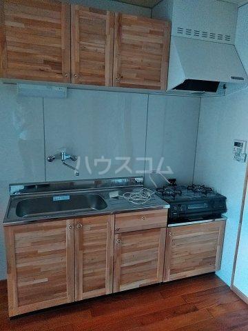 ユトリロ下地3 603号室のキッチン