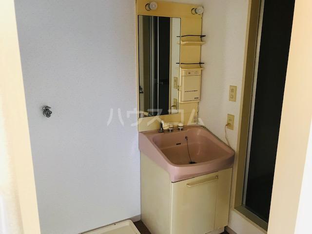 グリーンステージ堂坂B棟 201号室の洗面所