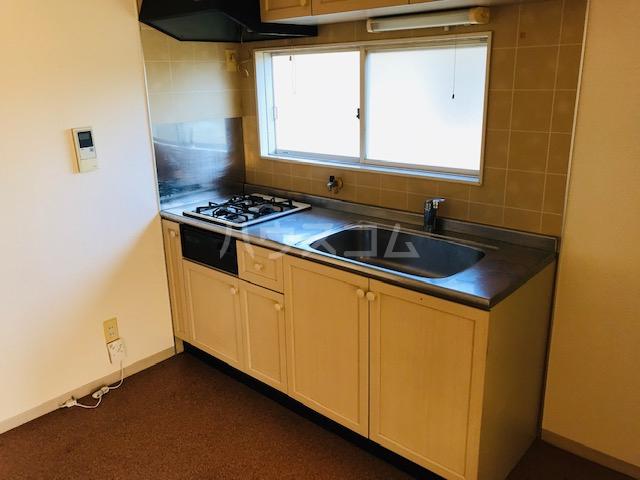 グリーンステージ堂坂B棟 202号室のキッチン